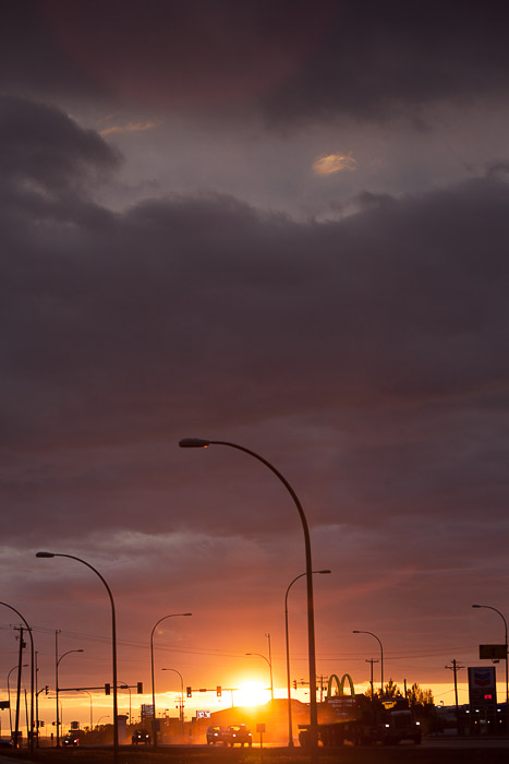 01-Gibaud-Canada-British Columbia-Fort Nelson-Photography-Sunset