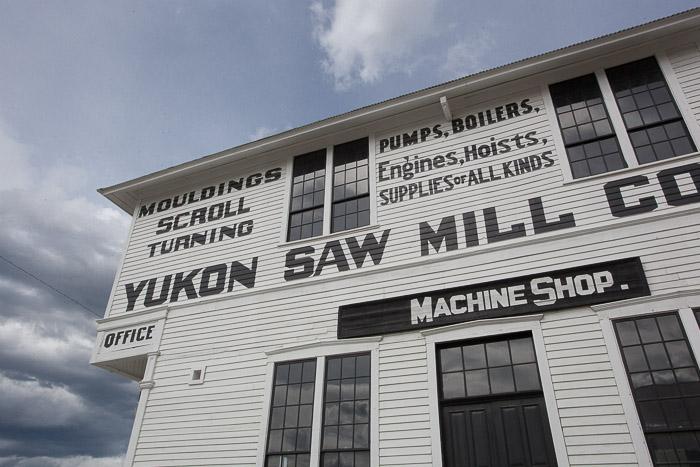 02-Gibaud-Canada-Yukon-Dawson City-Photography-Saw Mill