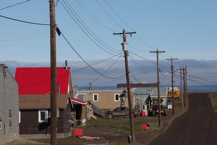 07-Gibaud-Transam-Photography-Canada-NWT-Tuktoyaktuk-Main Road